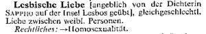 Brockhaus 1955-lesbische Liebe