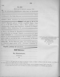 Gerburtsurkunde, Deutsches_Reichsgesetzblatt_1899_015_236