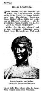 Unter Kontrolle. Spiegel Nr. 50/1967, S. 123